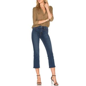 NEW L'Agence Serena Baby Flare Jeans